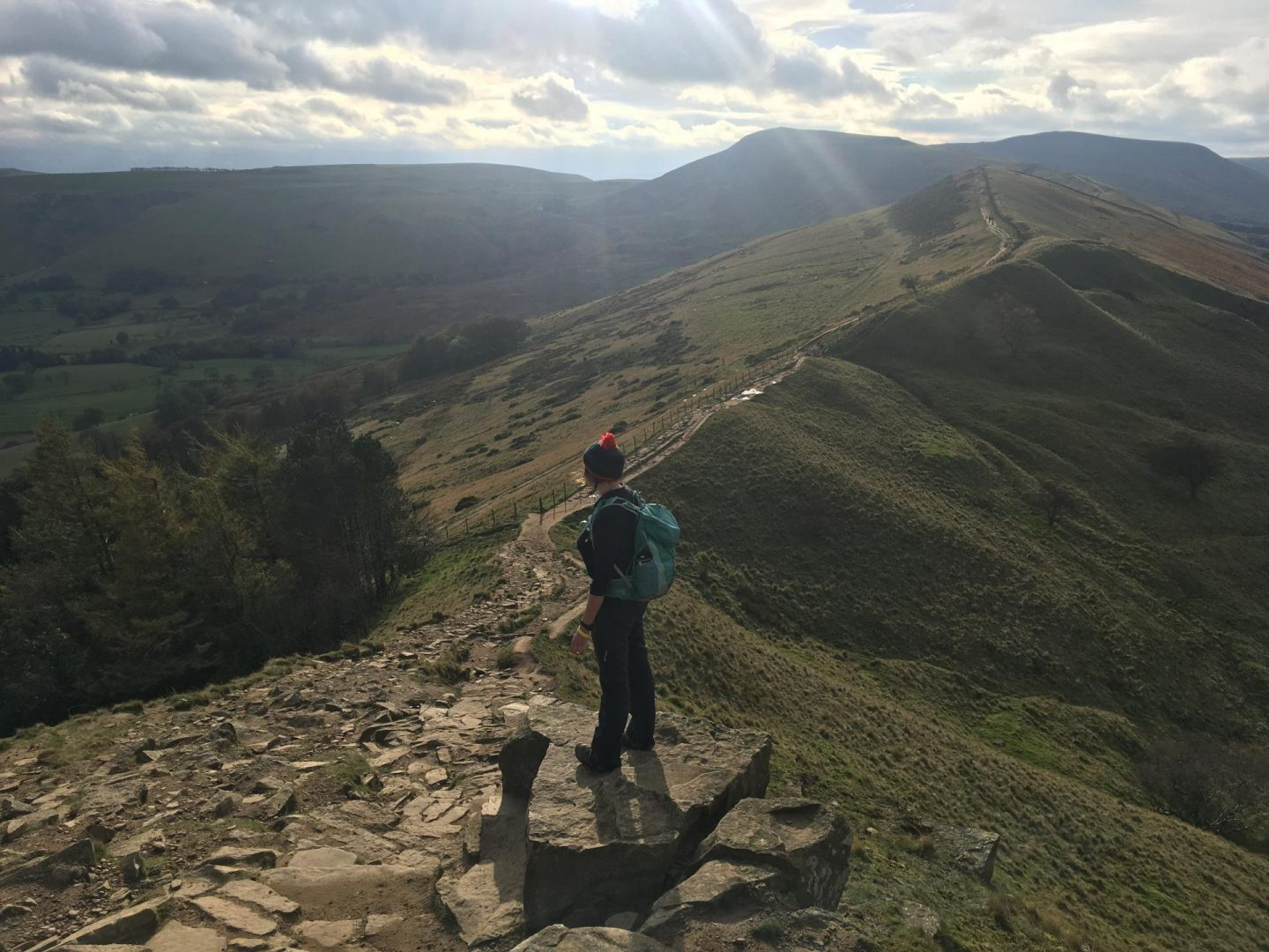 The Girl Outdoors Sian Lewis Mam Tor