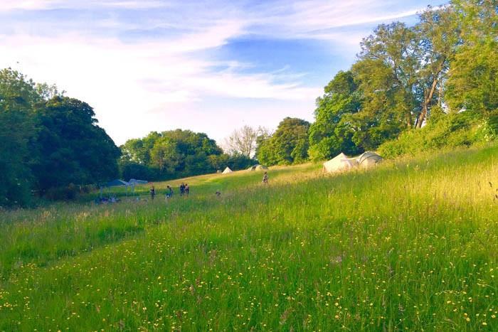 Ten of the best adventure campsites in the UK The Girl Outdoors Sunny Field Kent