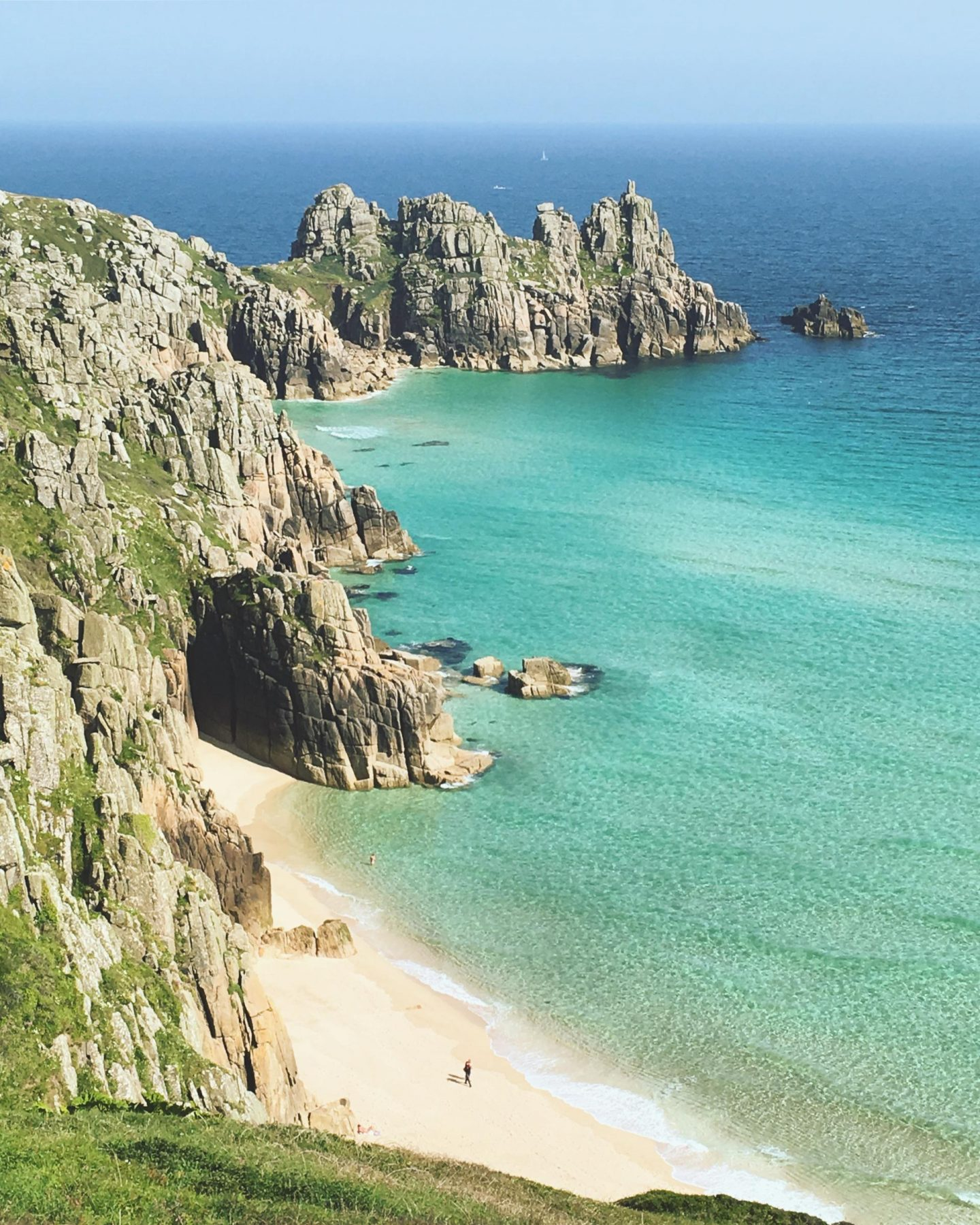 Ten of the best adventure campsites in the UK The Girl Outdoors Treen Farm Cornwall
