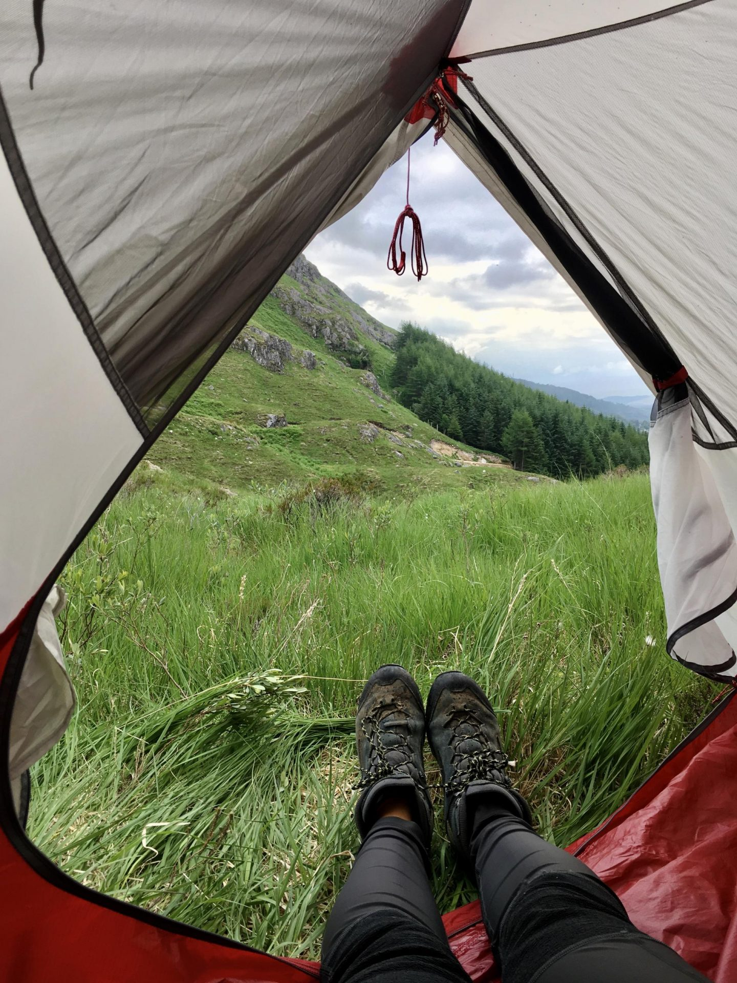 Wild camping in Scotland Sian Lewis The Girl Outdoors