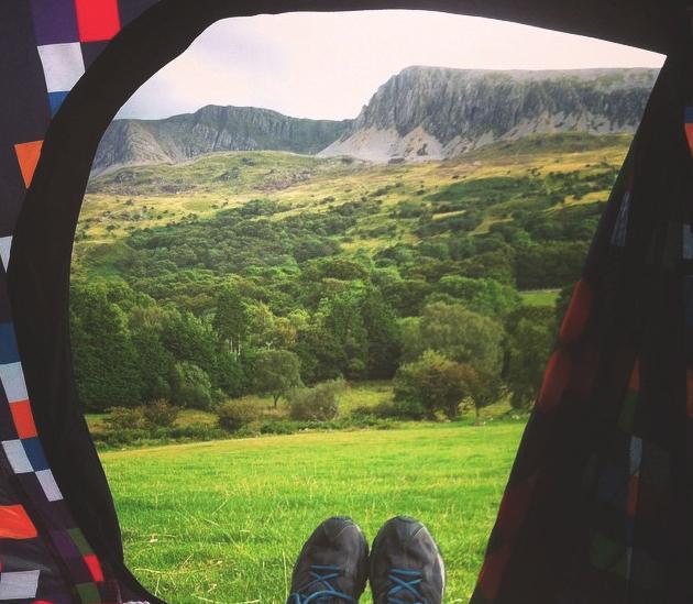 Ten of the best adventure campsites in the UK The Girl Outdoors Owen Tyddyn