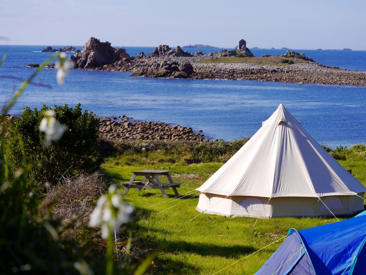 Ten of the best adventure campsites in the UK The Girl Outdoors Troytown Farm Scilly