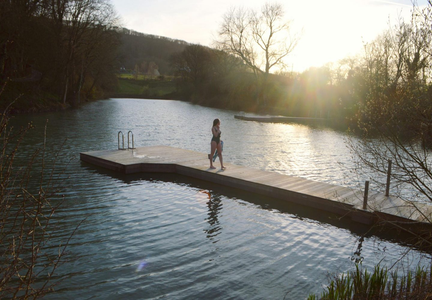 Ditchling Cabin Review | Sian Lewis wild swimming