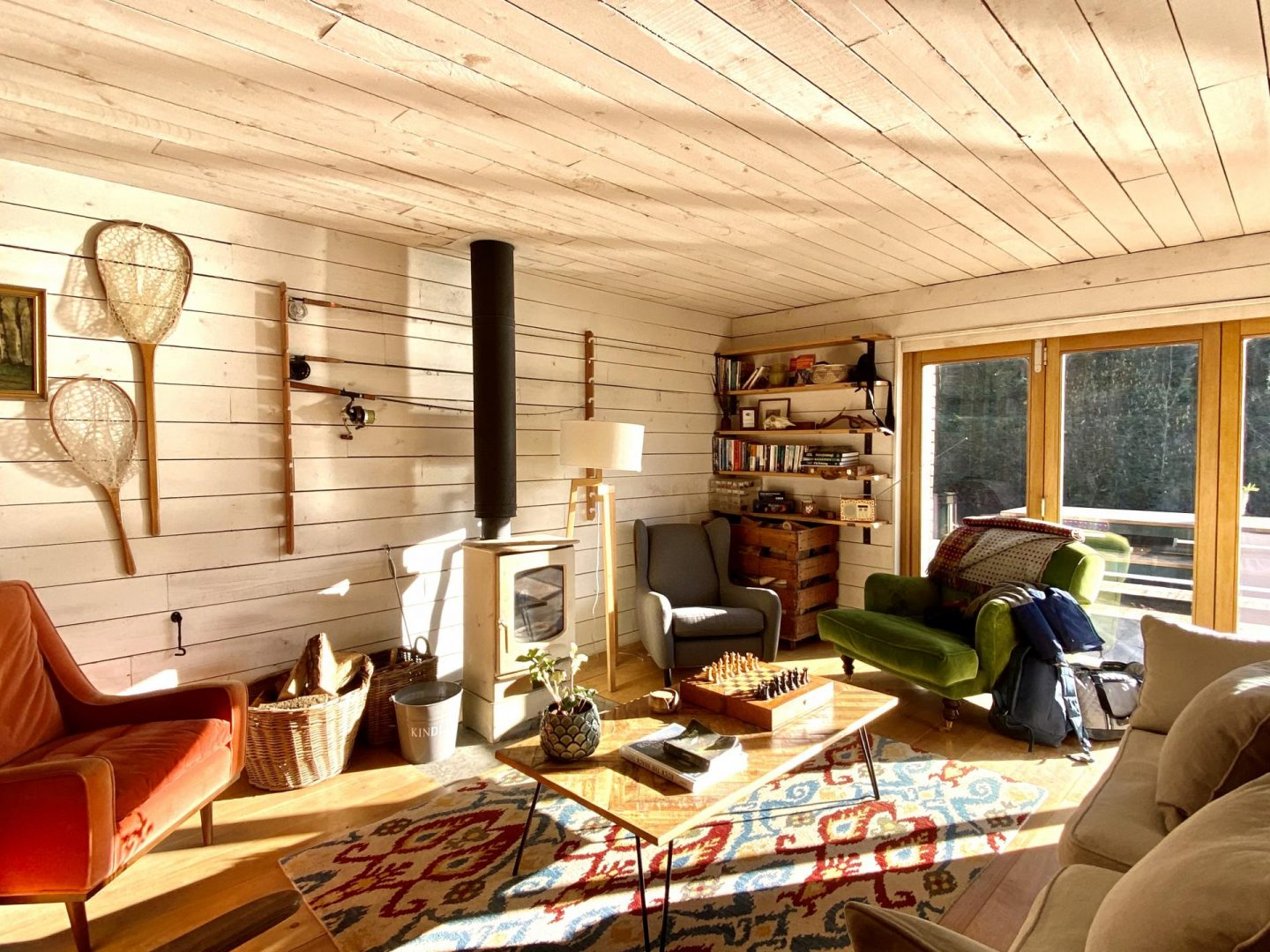 Ditchling Cabin Review | Canopy & Stars Cabin On A Lake