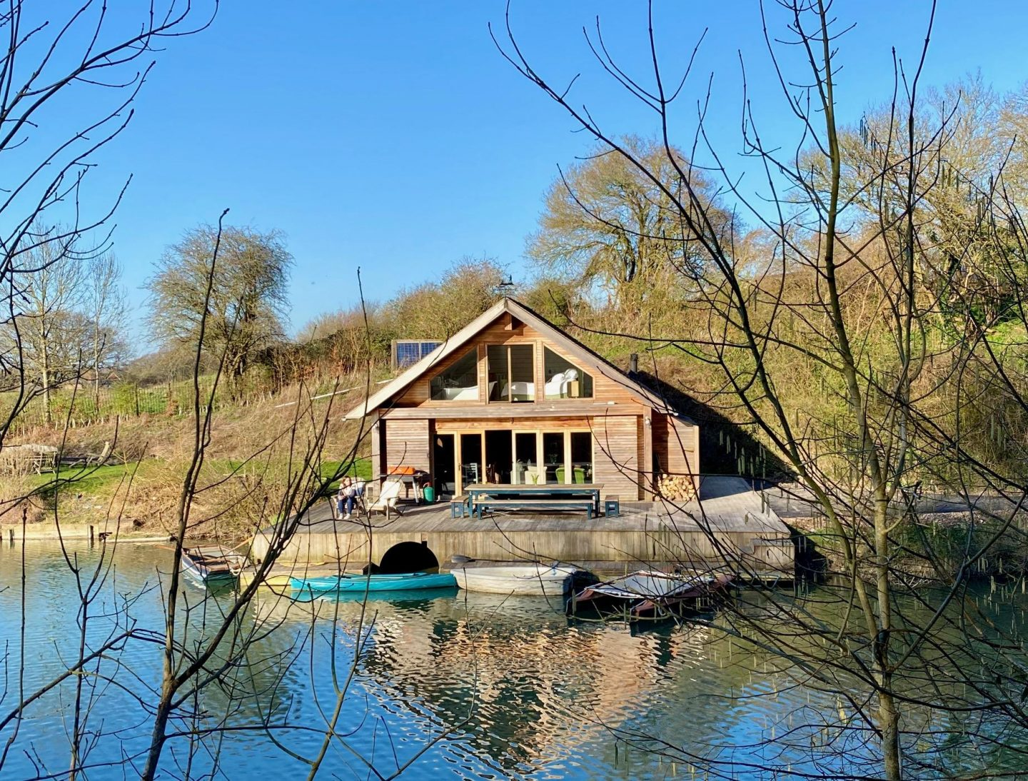 Places to Stay: Ditchling Cabin, Sussex, with Canopy & Stars