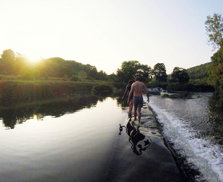 Wild Swimming Near Bristol | Places To Swim Less Than An Hour Bristol Claverton Weir
