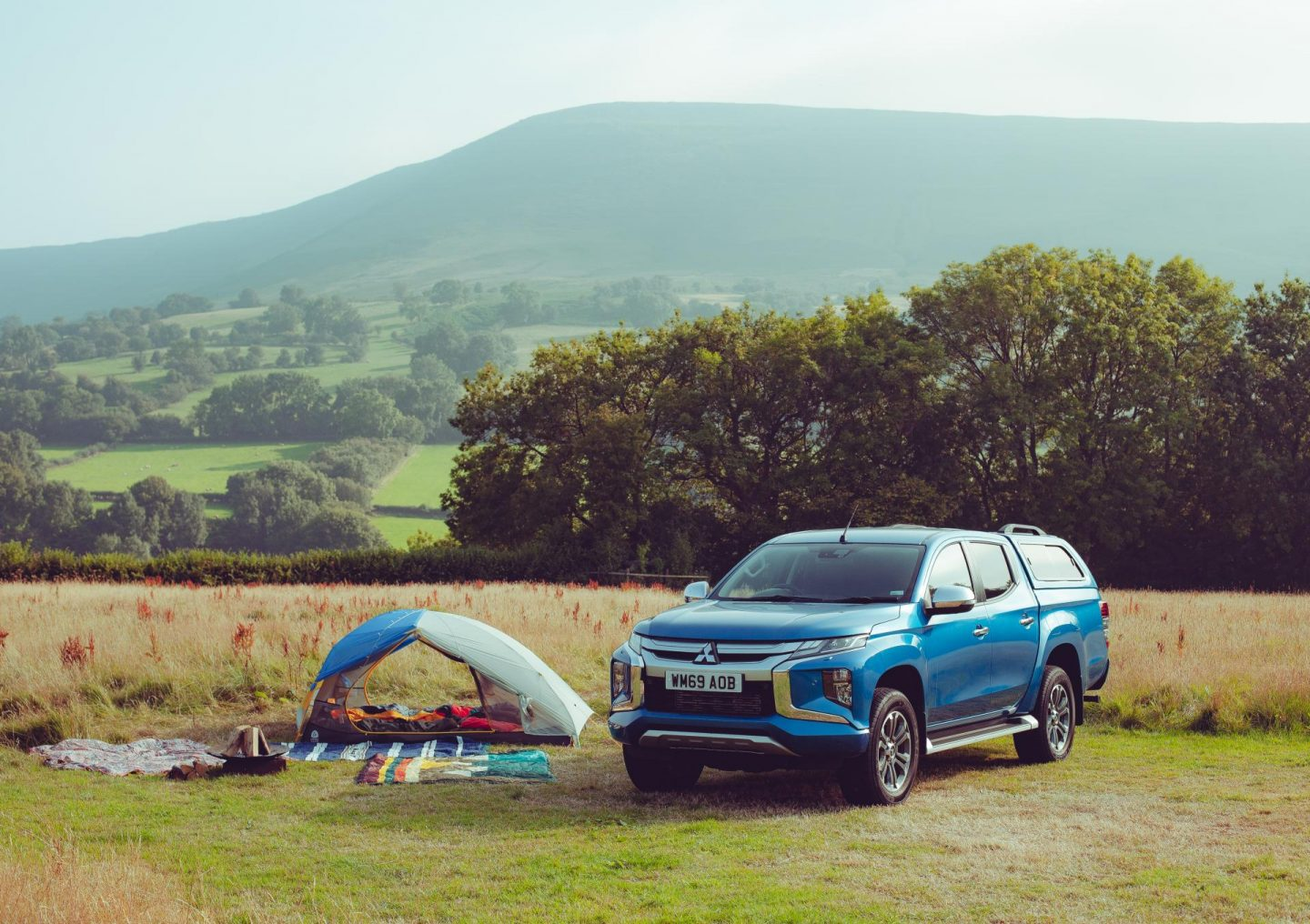 Top tips for wilder camping with Mitsubishi
