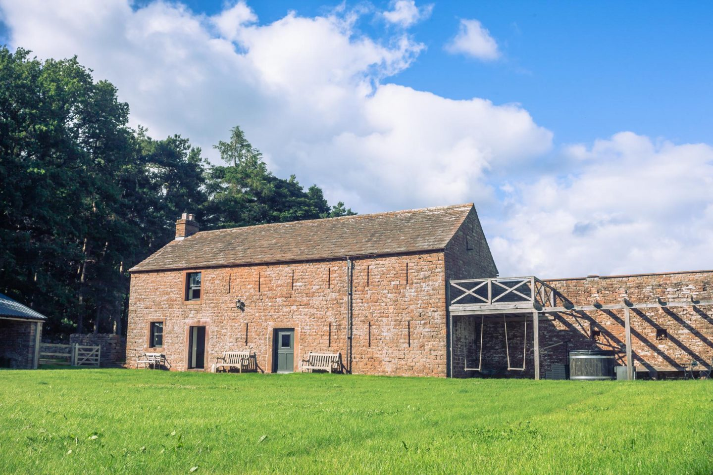 Places to Stay: The Bothy At High Barn, Cumbria, with Canopy and Stars